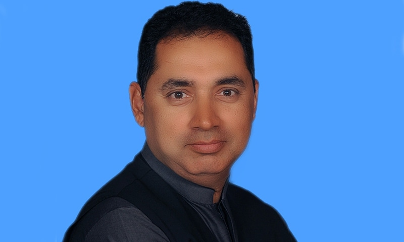 PTI MNA Muhammad Aslam Khan. — Photo courtesy: na.gov.pk