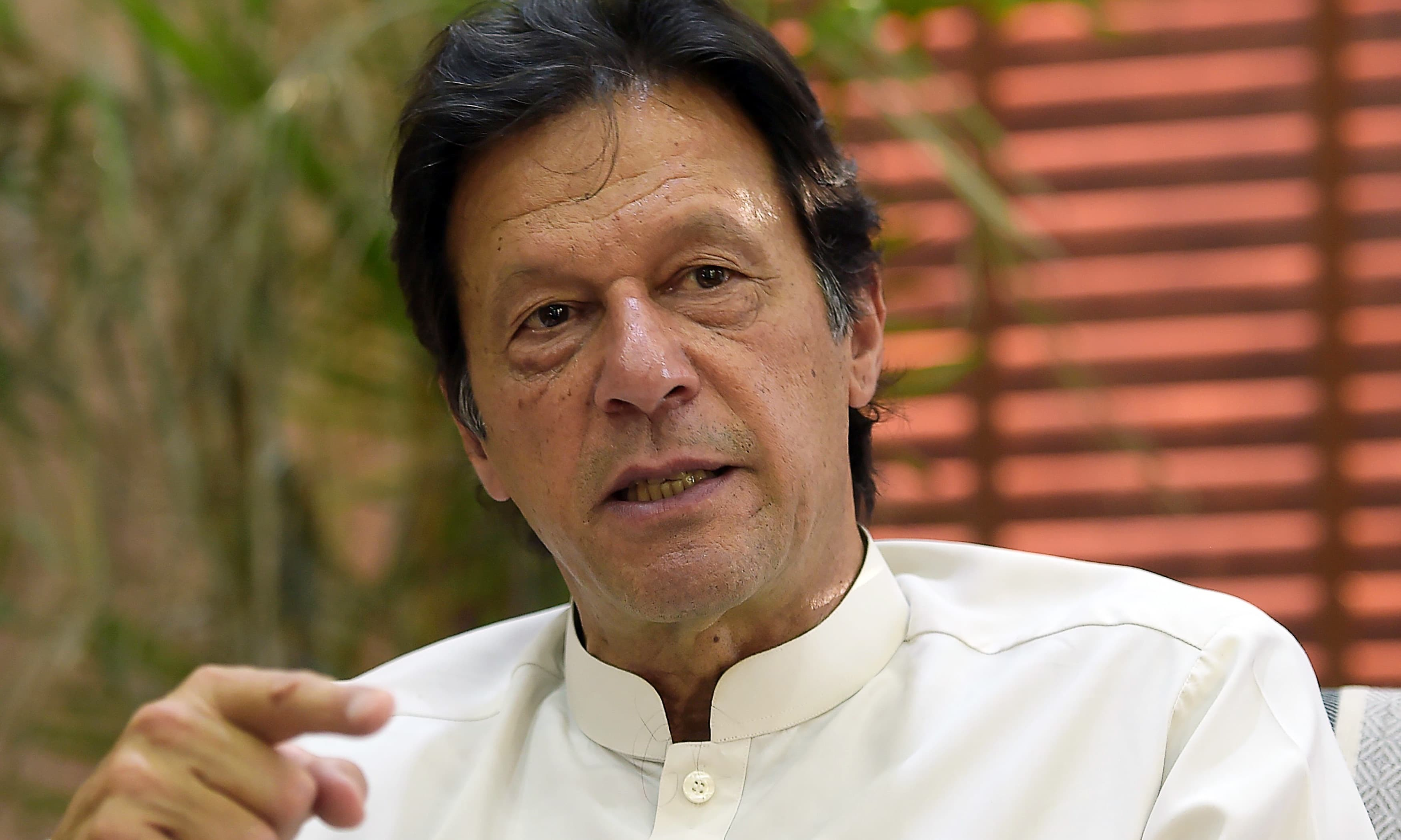 Prime Minister Imran Khan's party PTI has requested court to restrain scrutiny committee from probing the party's foreign funding. — AFP/File