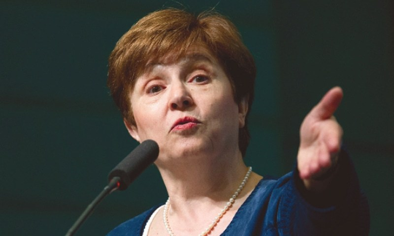 The global debt load has surged to a new all-time record equivalent to more than double the world's economic output, IMF chief Kristalina Georgieva warned on Thursday. — AP/File