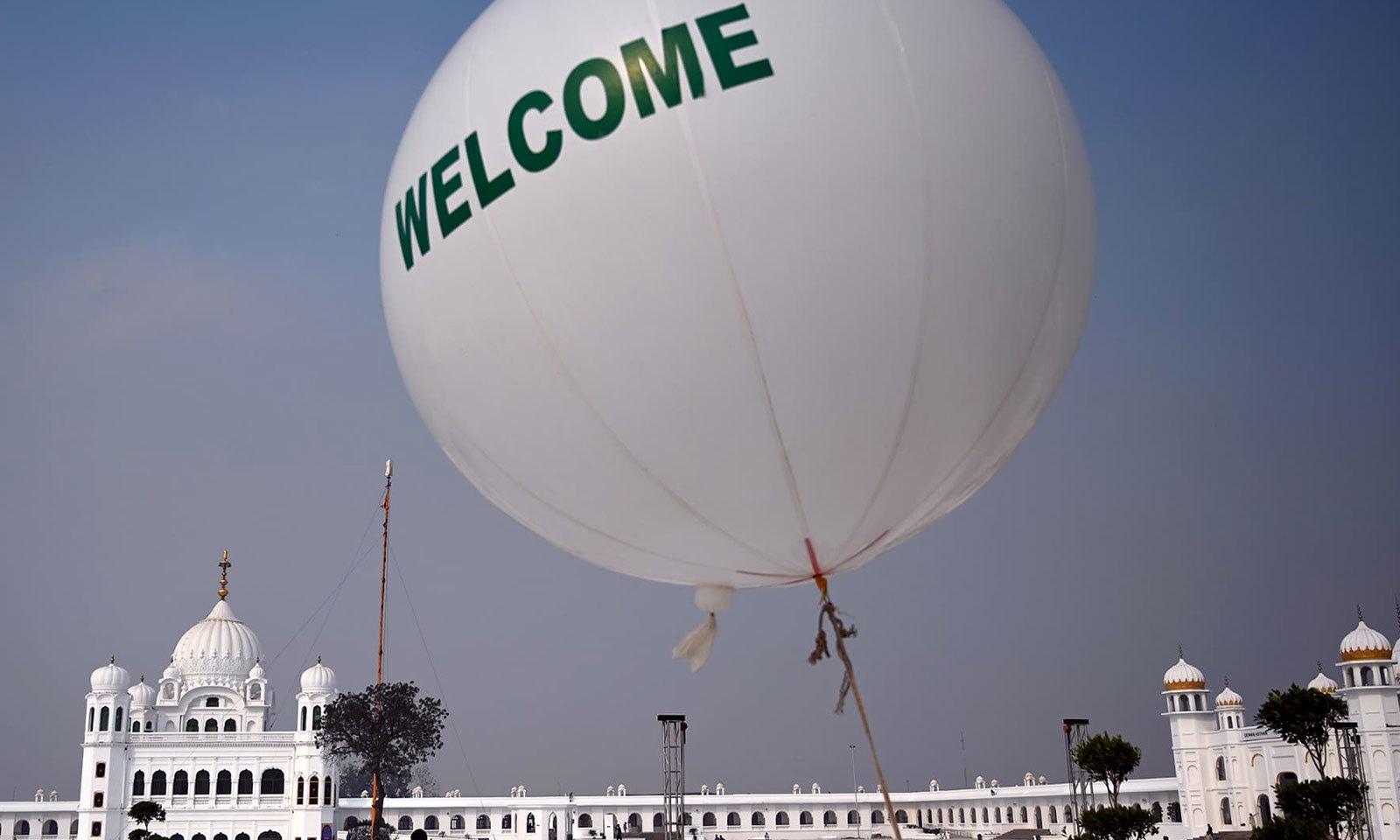 پاکستان نے انتہائی تیزی سے راہداری کی تعمیر کا کام مکمل کیا — فوٹو: اے ایف پی