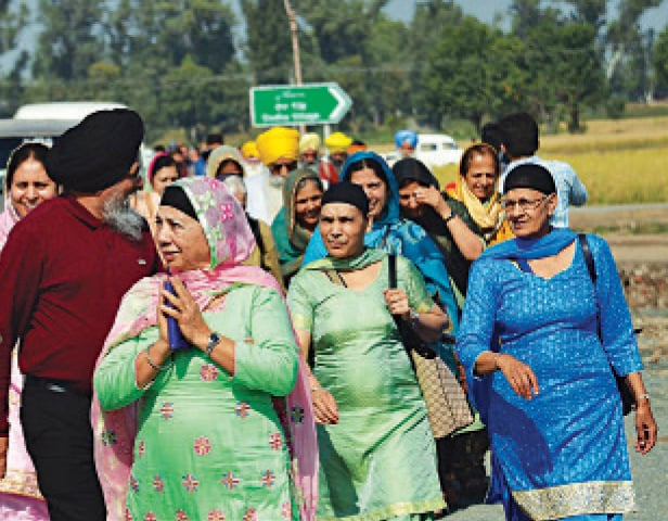 Emotional Sikhs thankful for corridor