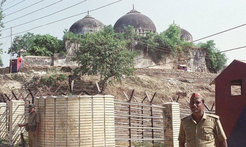 The Babri Mosque was demolished on December 6, 1992.—AP