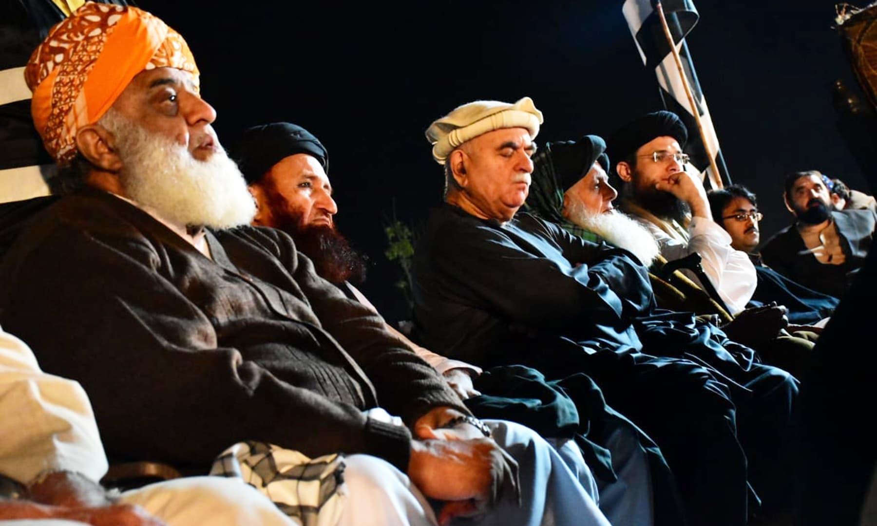 All photos courtesy Jamiat Ulama-e-Islam Pakistan Facebook page