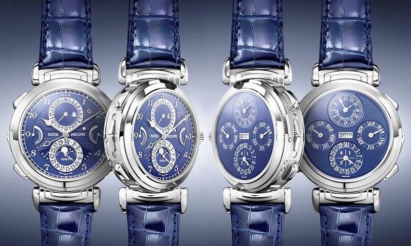 خیال کیا جا رہا تھا کہ گھڑی ڈیڑھ سے 2 کروڑ ڈالر میں فروخت ہوگی—فوٹو: پیٹک فلپ