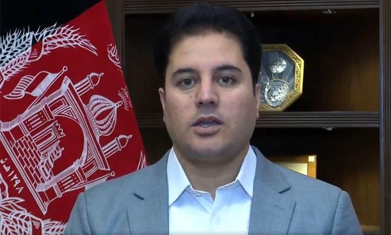 افغان نیشنل سیکیورٹی کونسل کے ترجمان نے افغان دارالحکومت میں صحافیوں سے گفتگو کرتے ہوئے اس ملاقات کی تصدیق کی —تصویر: ٹوئٹر