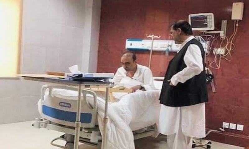 آصف زرداری کو علاج کیلئے کراچی منتقل کرنے کی درخواست مسترد