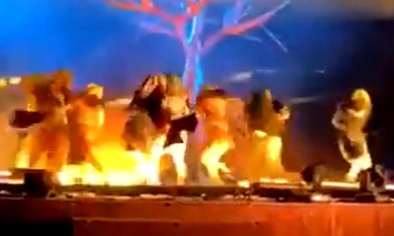 سعودی عرب کے ثقافتی فیسٹیول کے دوران فنکاروں پر چاقو سے حملہ