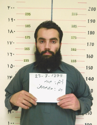 Anas Haqqani.—AFP