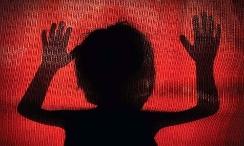The police on Tuesday booked two staff members of a private school in Gulshan-i-Maymar for sexually assaulting a four-year-old boy, officials said. — File