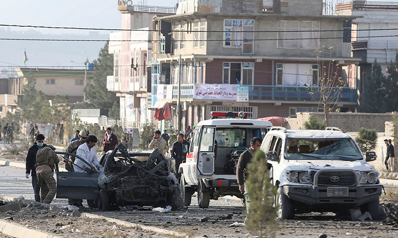 Seven killed, seven injured in Afghanistan auto explosion