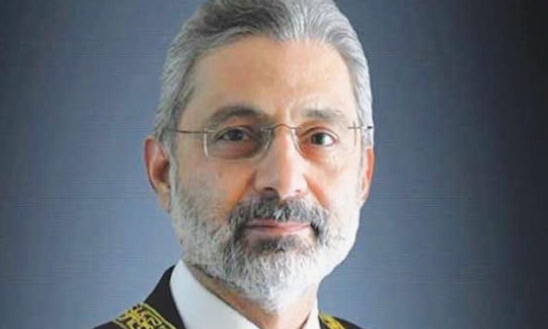 اٹارنی جنرل انور منصور خان نے جسٹس قاضی فائز عیسیٰ پر اعتراض اٹھادیا—فائل/فوٹو:ڈان