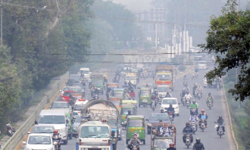 Smog turns air 'very unhealthy' in Lahore areas