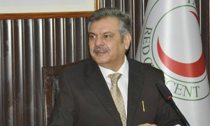 PML-N leader removed from  Red Crescent top slot