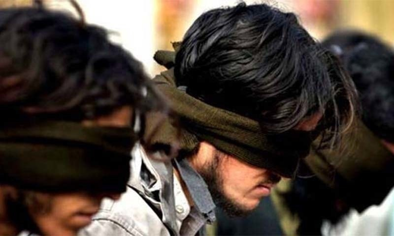 Haseeb Javed and Saeed Akbar planned to attack sensitive installations, officials say. — AFP/File