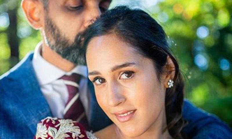 اداکارہ نے شادی کی تصاویر انسٹاگرام پر شیئر کیں — فوٹو/ انسٹاگرام