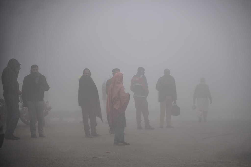 Lahore has assumed a hazy look significantly reducing visibility | Murtaza Ali/White Star