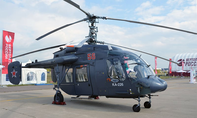 India and Russia signed a deal in 2015 for the supply of 200 Russian KA 226T helicopters. — Wikimedia Commons