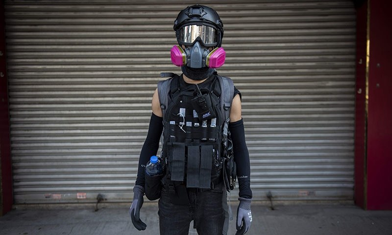 A government ban on demonstrators wearing face masks, aimed at helping to quell months of pro-democracy unrest in Hong Kong, is unconstitutional, the territory's high court ruled on Monday. — AFP/File