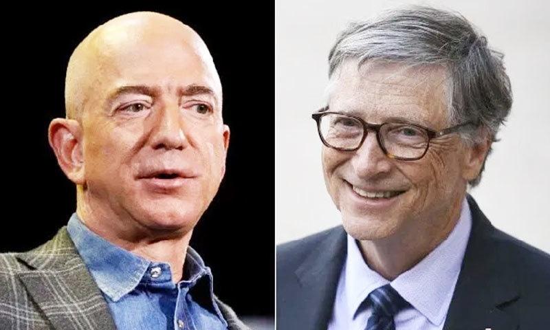 فوربز نے رواں برس جیف بزوز کو امیر ترین شخص قرار دیا تھا—فوٹو: فیس بک/ ٹوئٹر