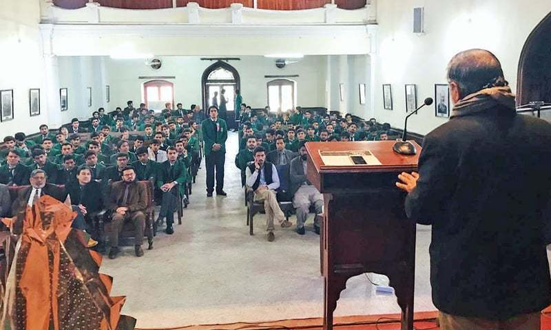 The Board of Governors of the Edwardes College met here on Monday to examine the affairs of the prestigious educational institution as the bishop of Peshawar Church Diocese warned the governor against interfering in its matters. — Dawn/File