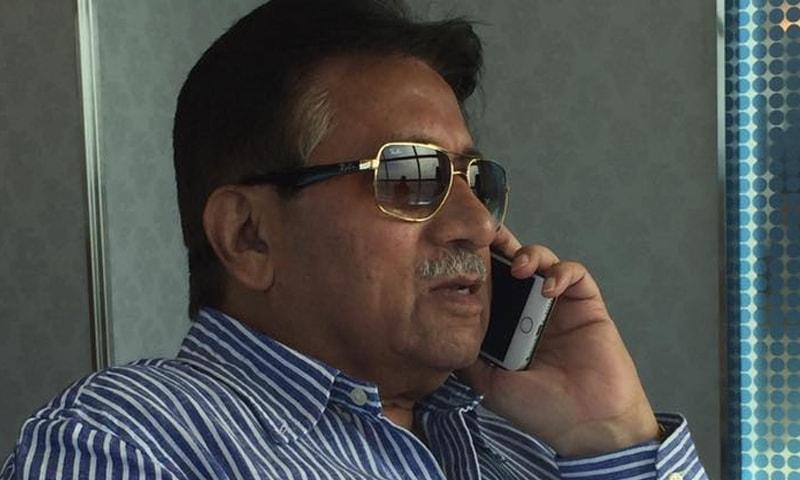 آج پرویز مشرف کے وکیل کو دلائل کے لیے تیسرا موقع دیا گیا تھا—تصویر:بشکریہ فیس بک
