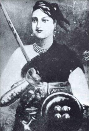 The Rani of Jhansi, despite Indian history's best attempts, has been discovered to be a reluctant rebel.  — Photo courtesy: Wikimedia Commons.