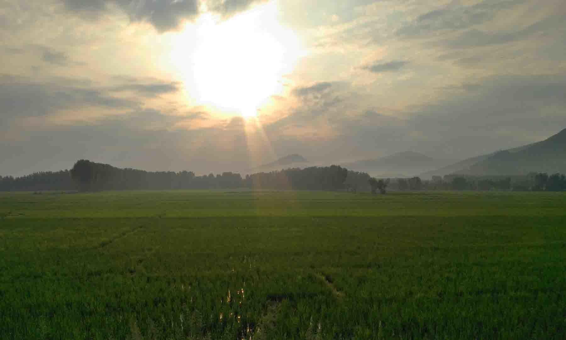 سوات ایکسپریس وے اور طلوع آفتاب—عظمت اکبر
