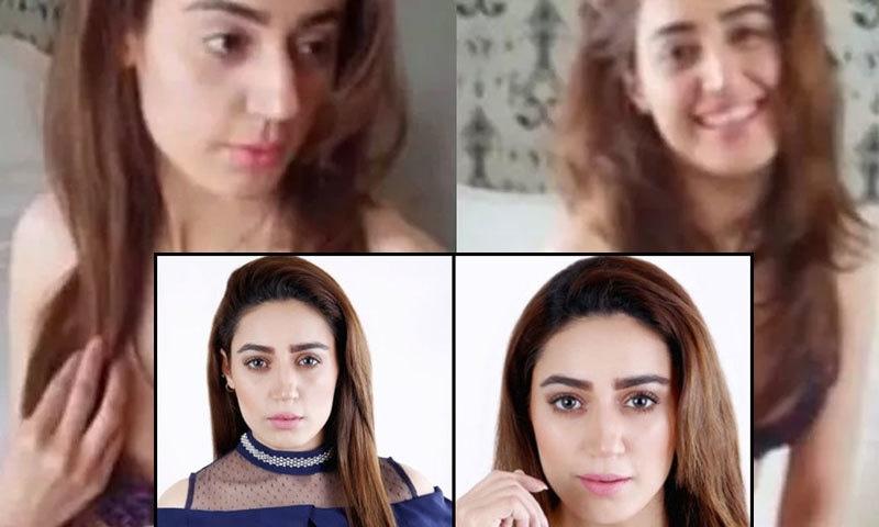 سمارا چوہدری مختصر اشتہارات کرتی آئی ہیں—فوٹو: ٹوئٹر