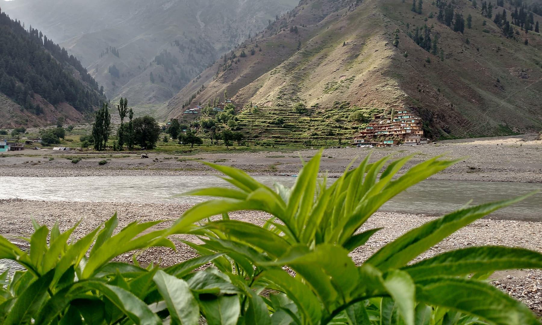 وادئ کاغان کا ایک منظر