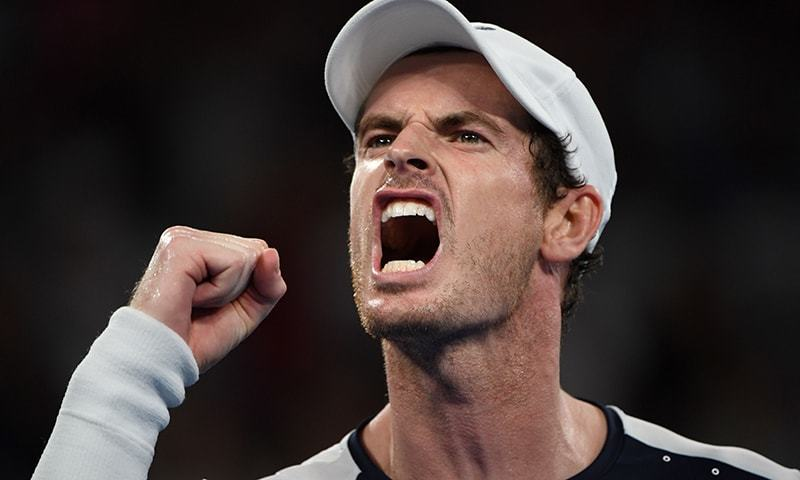 Murray defeated Tallon Griekspoor 6-7 (7), 6-4, 7-6 (5) on Wednesday after trailing 4-1 in the third set and 4-1 in the decisive tiebreaker, giving his team a 1-0 lead in the Group E series in the new Davis Cup Finals. — AFP/File