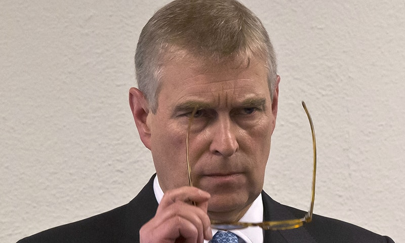 "Britain's Prince Andrew stepped down from public duties on Wednesday, saying the controversy surrounding his ""ill-judged"" association with late US financier Jeffrey Epstein had caused major disruption to the royal family's work. — AP"