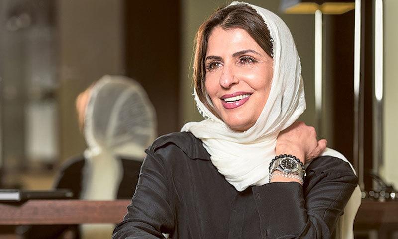 بسمہ سعودی عرب میں آئینی اصلاحات کے لیے بھی متحرک تھیں—فوٹو: گلف نیوز