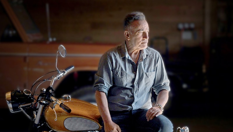 Bruce Springsteen at his home in Monmouth County, New Jersey | Michael S. Williamson/Washington Post