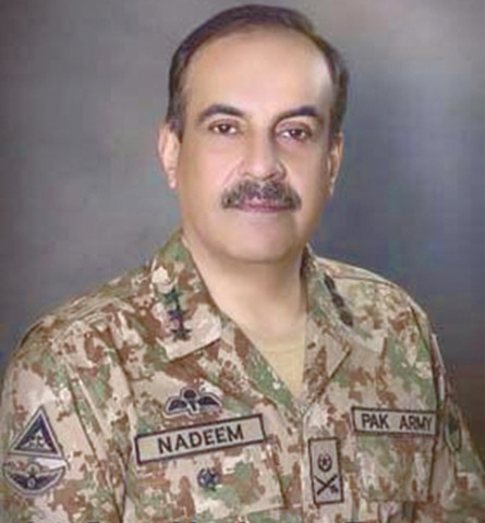 Lt Gen Nadeem Raza