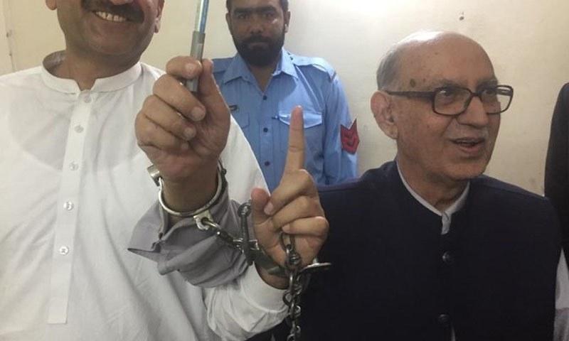 مکان کا ایگریمنٹ عرفان صدیقی کے بیٹے کے نام تھا — تصویر: ٹوئٹر