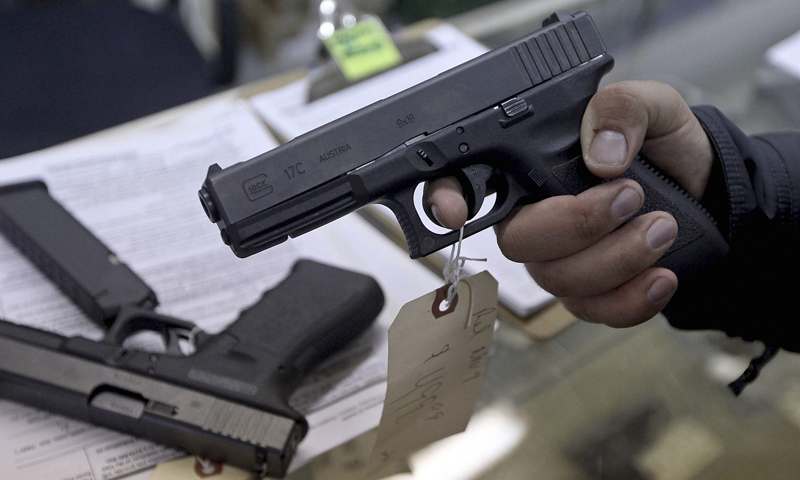 The ban on the issuance of arms licences was imposed in Sindh after the launch of the Karachi operation against criminal elements in 2013. — Reuters/File