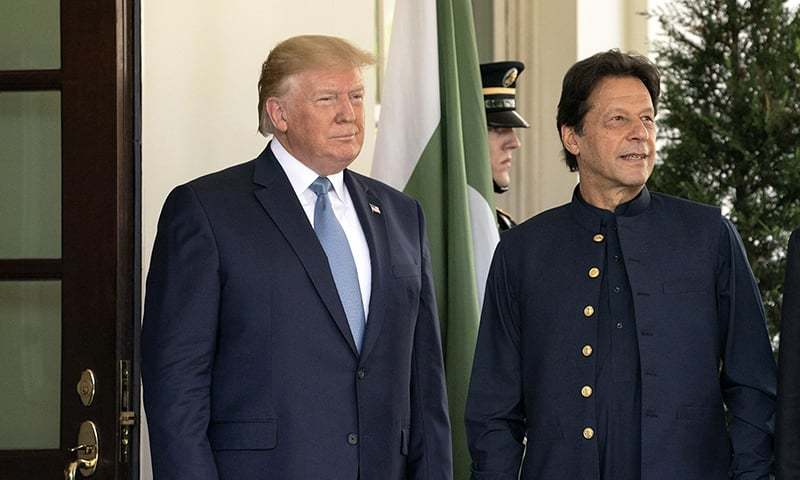 President Donald Trump and Prime Minister Imran Khan have reaffirmed commitment for a stronger relationship, the White House said. — White House Flickr/File