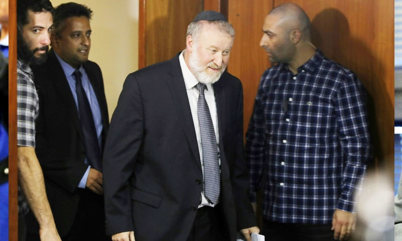 اسرائیلی اٹارنی جرنل نے نیتن یاہو پر فرد جرم عائد کی—فوٹو: اے ایف پی
