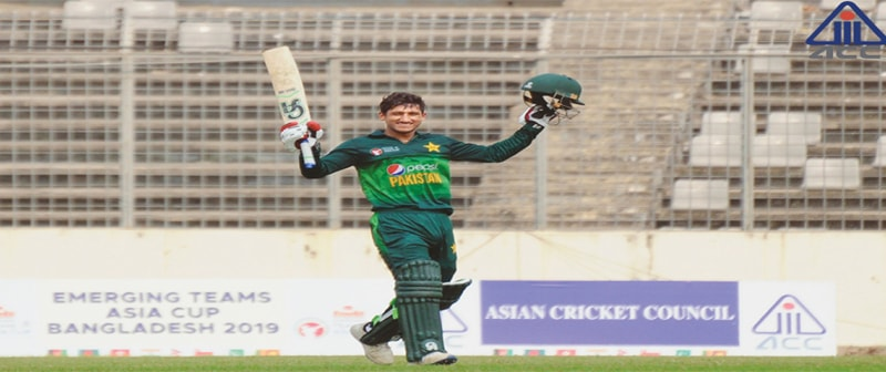 Rohail stars as Pakistan whip BD to clinch Emerging Teams Asia Cup title
