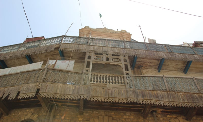 The majestic Om Kanhaiya Lal Cottage -Photos by the writer