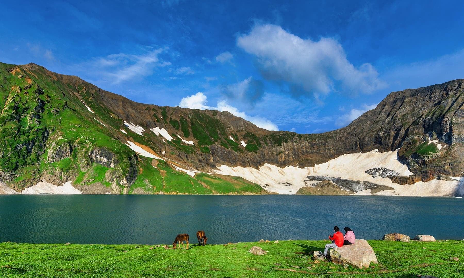 View of Rattigali Lake. — Photo by Syed Mehdi Bukhari