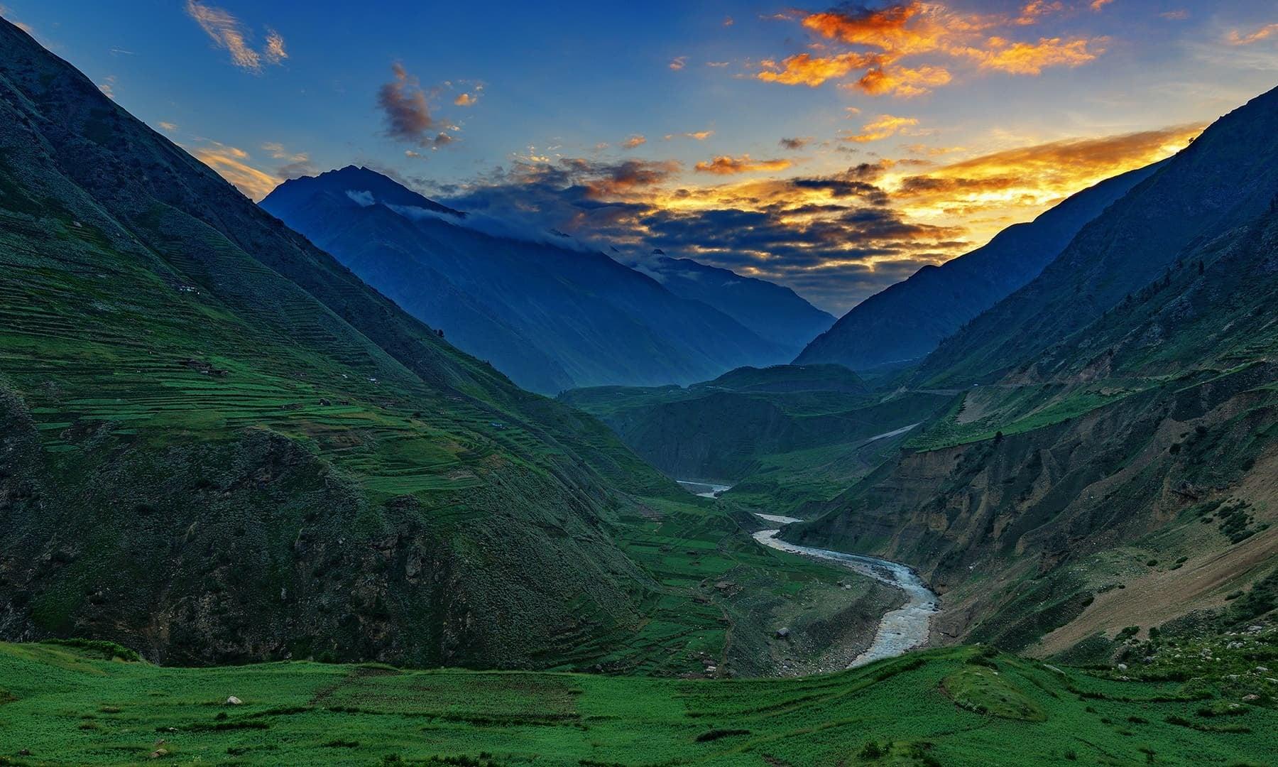Morning in Naran Valley. — Photo by Syed Mehdi Bukhari