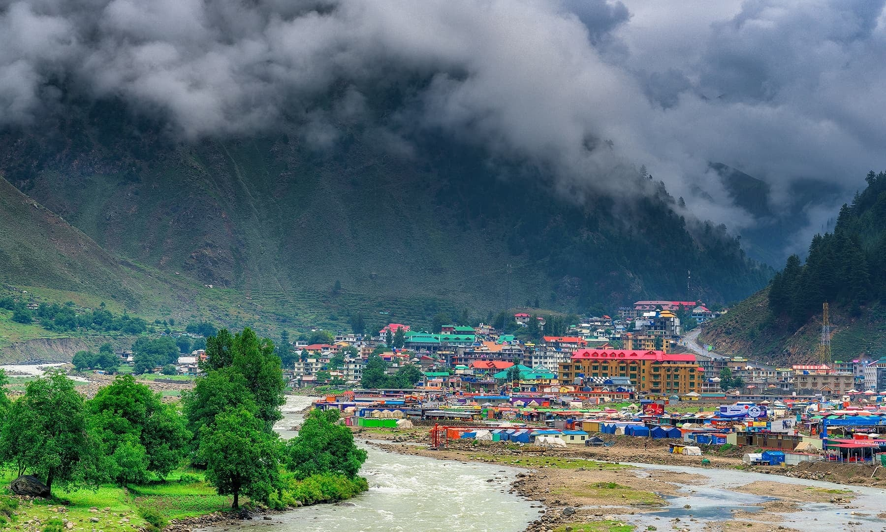 View of Naran Valley. — Photo by Syed Mehdi Bukhari