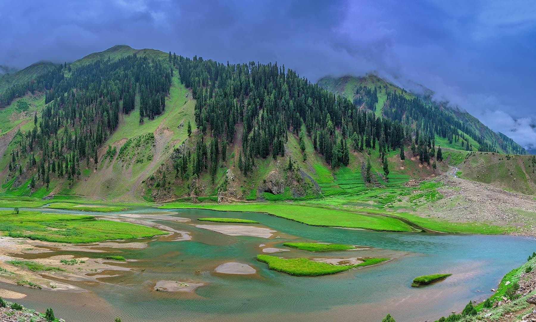 Waterbody in Naran Valley. — Photo by Syed Mehdi Bukhari