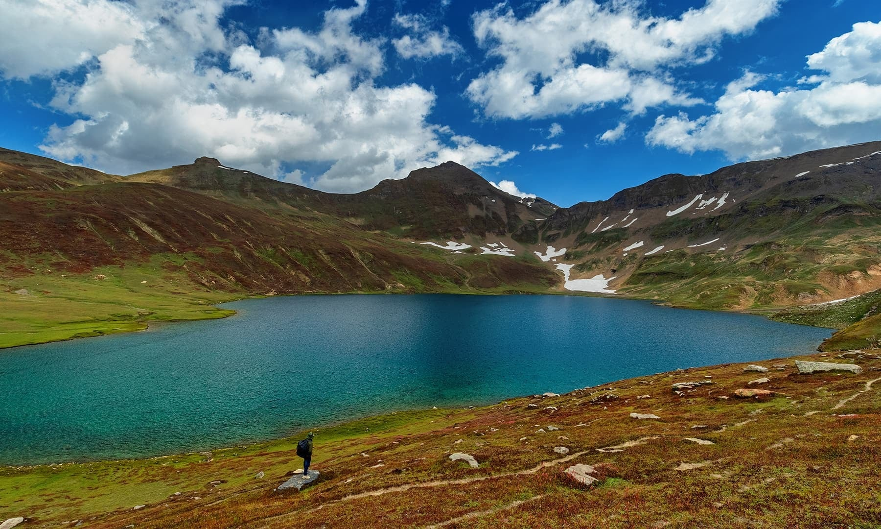 View of Dudipatsar Lake. — Photo by Syed Mehdi Bukhari