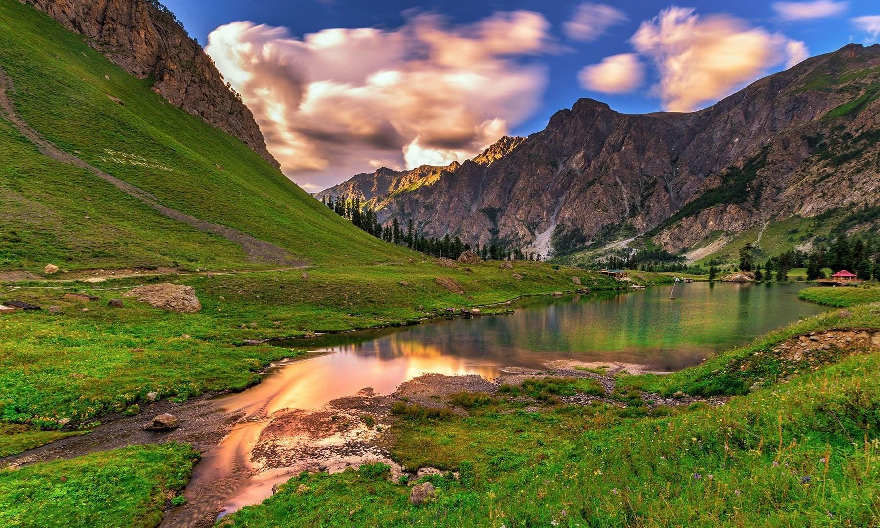 View of Rainbow Lake. — Photo by Syed Mehdi Bukhari