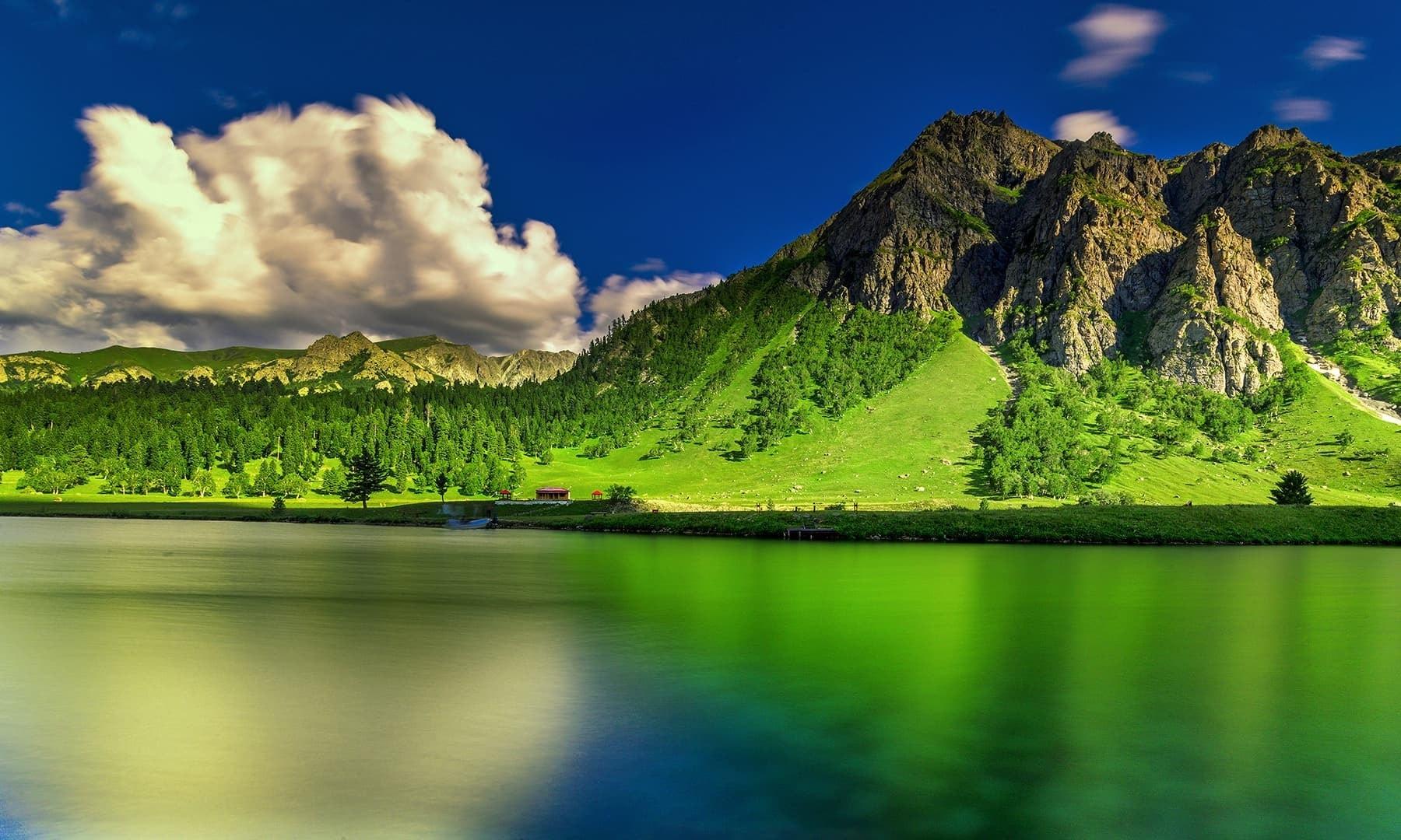 View of the lake. — Photo by Syed Mehdi Bukhari