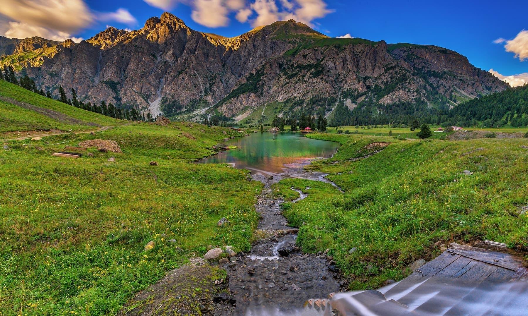 Rainbow Lake, Domel. — Photo by Syed Mehdi Bukhari