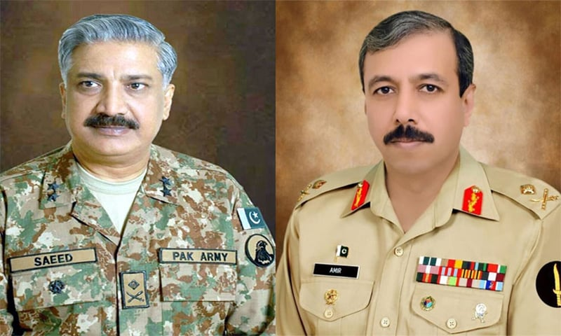 Two major generals promoted to lieutenant general rank