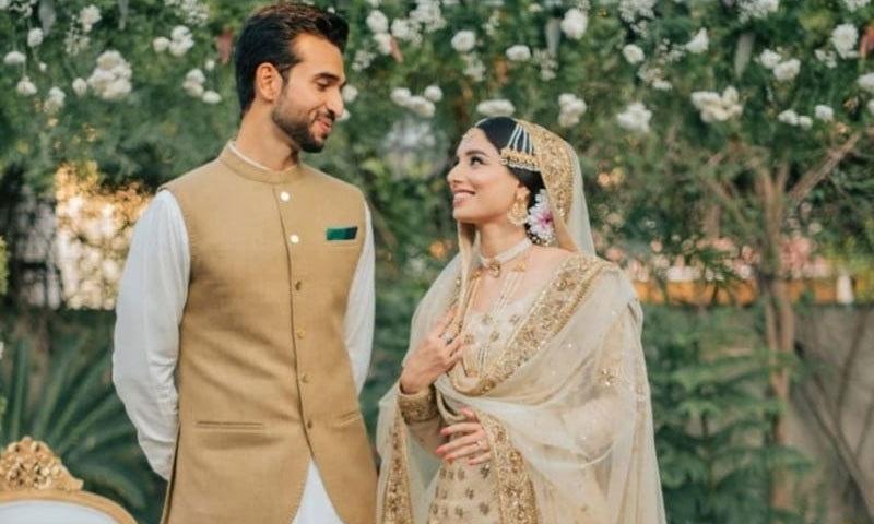زینب عباس نے نومبر 2019 میں شادی کی تھی—فائل فوٹو: انسٹاگرام